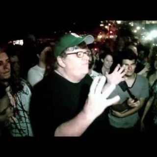 Michael Moore Lends Support To Occupy Wall Street With Speech And Piers Morgan Visit