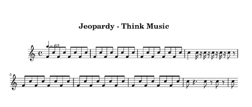 Jeopardy-Think-Music-sheet