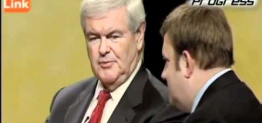 Newt Gingrich Tells Occupiers To Get A Job After Taking A Bath