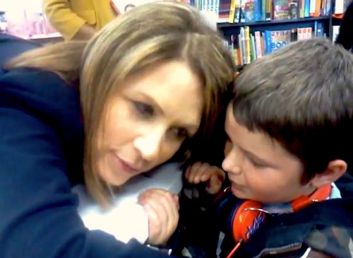 Elijah speaks to Michelle Bachmann