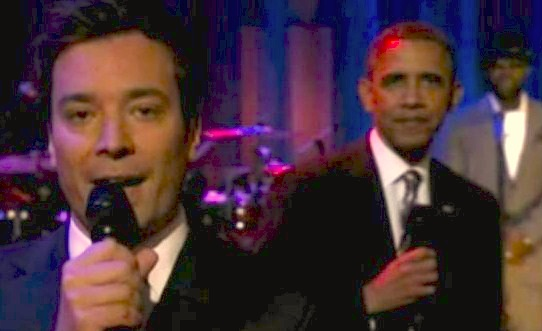 Obama and Fallon Slow Jam The News