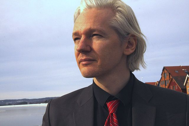 Julian Assange (WikiLeaks founder)