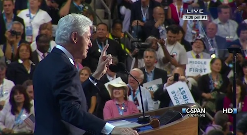 Bill Clinton DNC 2012