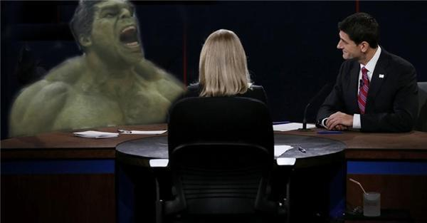 Hulk Biden vs Paul Ryan
