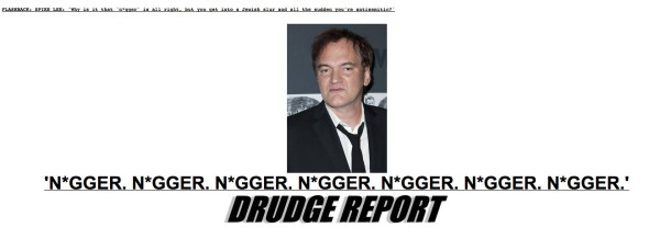 Drudge Report Django Unchained