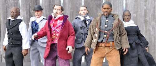 Django Unchained action figures