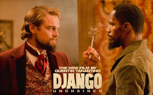Django Unchained - Dicaprio and Foxx
