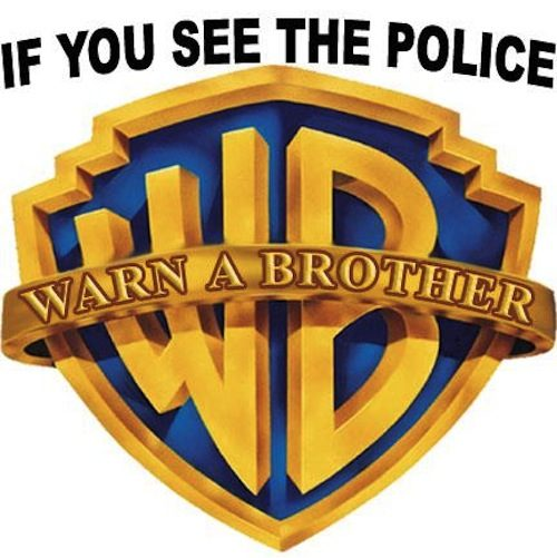 If you see the police, warn a brother.