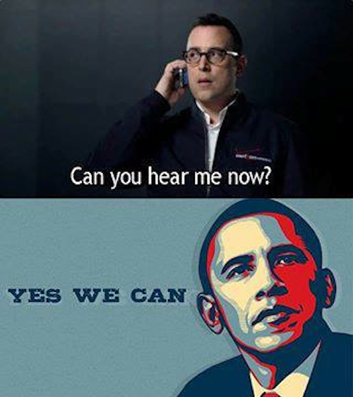 Can You Hear Me Now? Yes, We Can