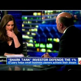 Kevin O'Leary Defends the 1% on CNN With Nonsense